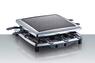 Раклетница Steba RC3 Plus Chrome (две пластины, отделка хром)